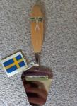 Käsehobel - Schwedenflagge