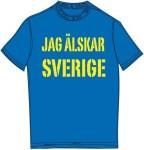 Schweden-Shirt (Männer) - Sverige - blau