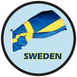Magnet schwedische Flagge